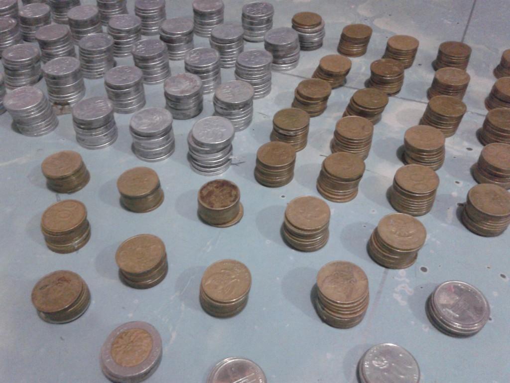 setumpuk itu 5000 rupiah