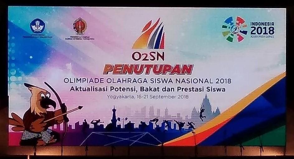 penutupan O2SN 2018