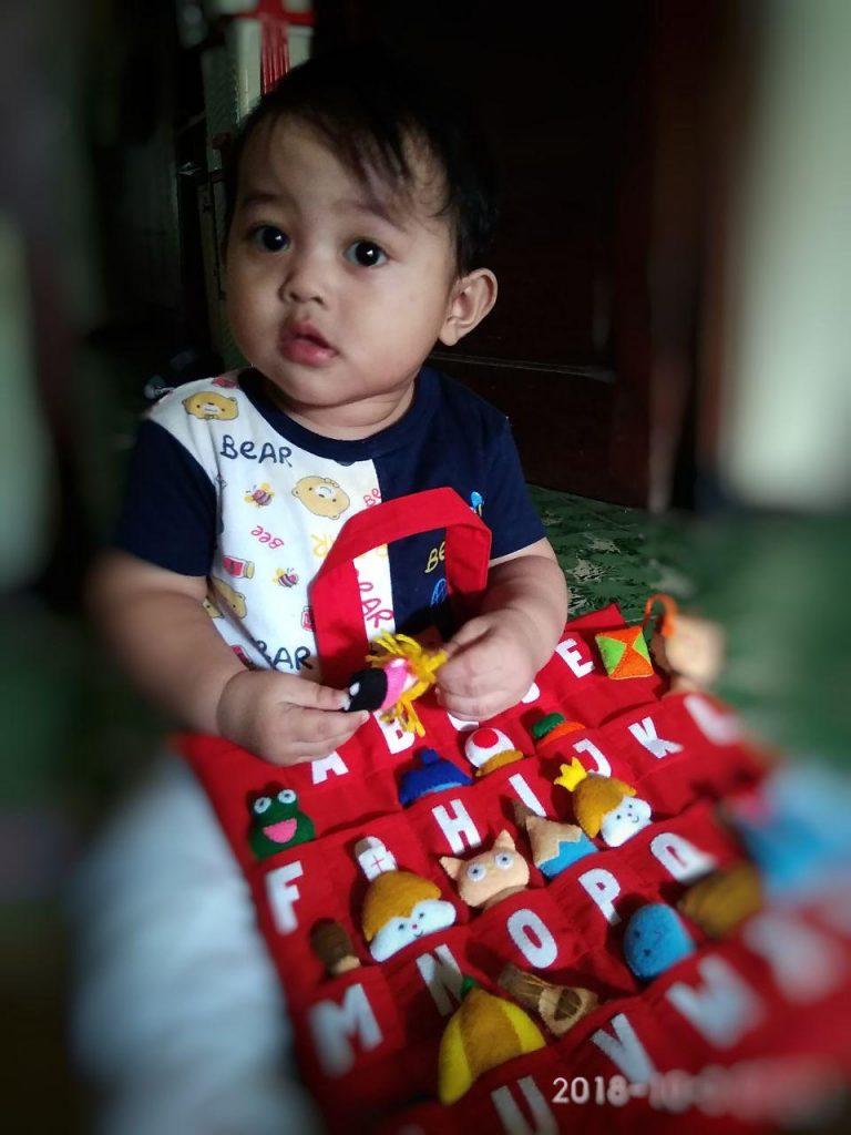 ulang tahun pertama Dimas