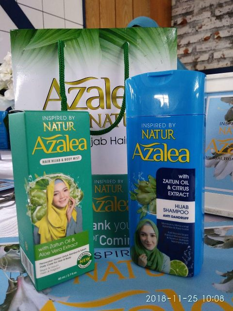 Azalea Real Hijab Hair Care