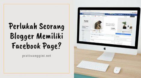 facebook page untuk blogger