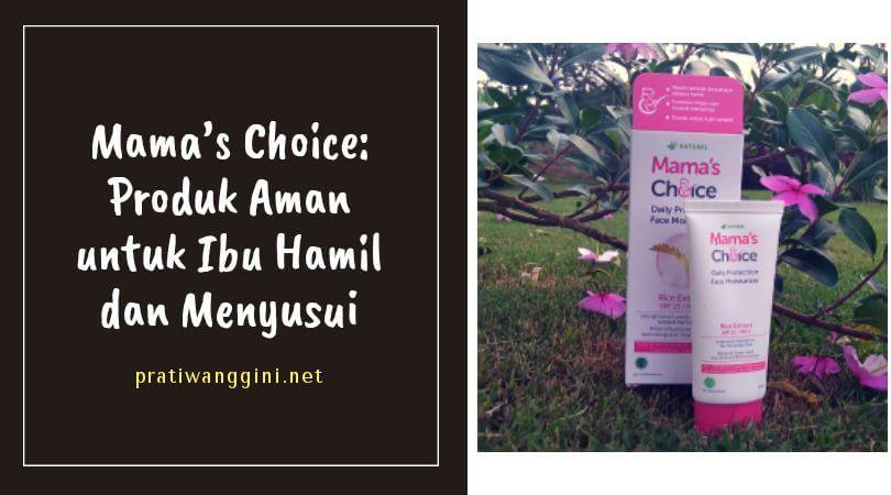 mamas choice daily protection face moisturizer