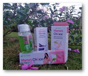 mama's choice daily protection face moisturizer