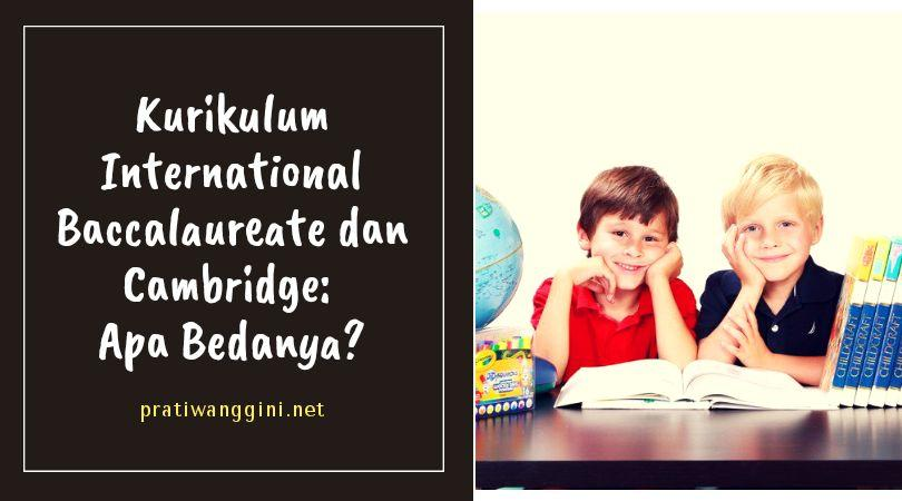 kurikulum international baccalaureate