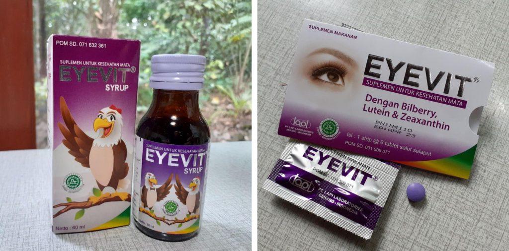 eyevit tablet dan syrup