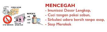 pencegahan pneumonia pada anak mencegah
