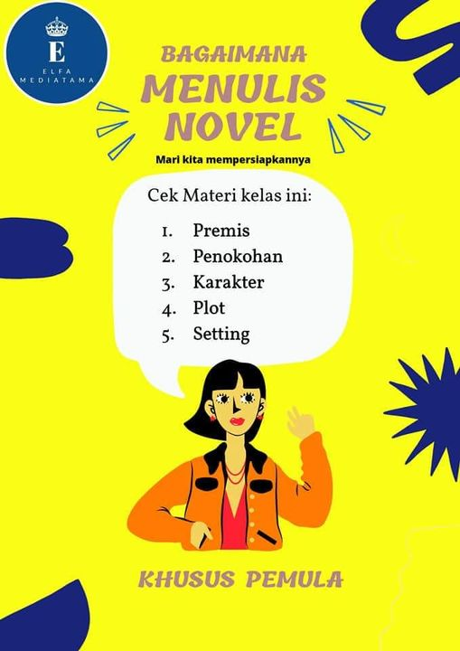 kelas menulis novel
