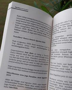 traveller choice award sate ratu