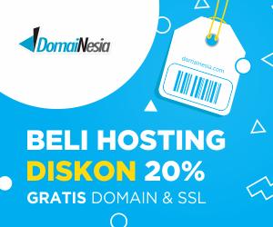 jual hosting diskon 20%
