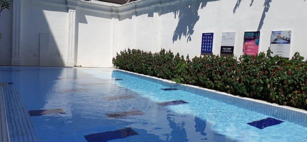 d'senopati hotel kolam renang