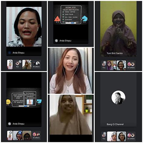 google meet seo moms community