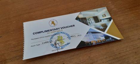 complimentary voucher d'senopati hotel