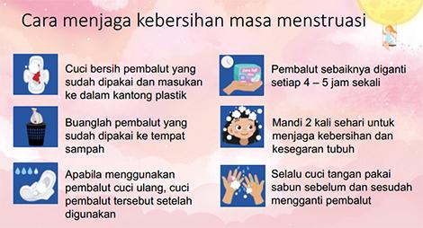 cara menjaga kebersihan masa menstruasi