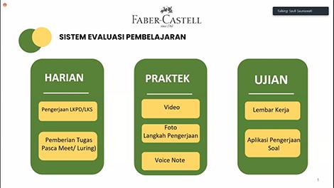 sistem evaluasi pembelajaran