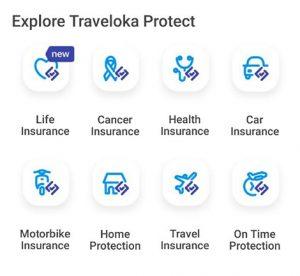 traveloka travel insurance